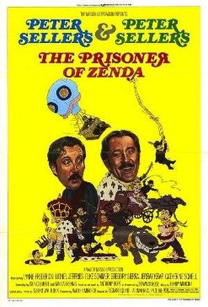 The Prisoner of Zenda (1979 film) - original film poster