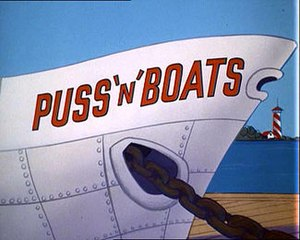 Puss 'n' Boats - Title Card