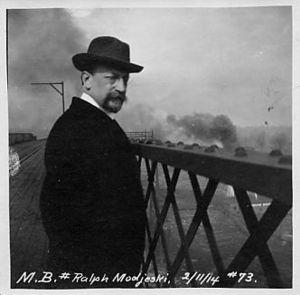Ralph Modjeski - Ralph Modjeski, 1914