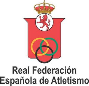 Royal Spanish Athletics Federation - Image: Real Federación Española de Atletismo Logo