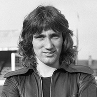 Robin Friday - Friday, photographed at Elm Park, Reading in 1974