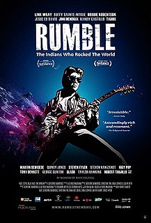 <i>Rumble: The Indians Who Rocked the World</i> 2017 Canadian documentary film