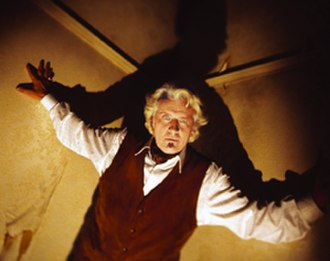 Kurt Barlow - Rutger Hauer as Barlow, climbing the celling in 'Salem's Lot (2004)