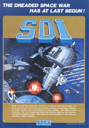 SDI (arcade game) - Image: SDI arcadeflyer