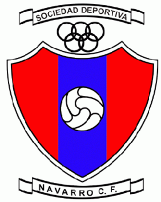 SD Navarro CF - Former logo