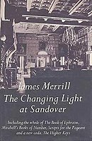 The cover of The Changing Light at Sandover, a 560-page epic poem published in 1982, shows the ballroom of James Merrill's childhood home in The Hamptons in the 1930s.