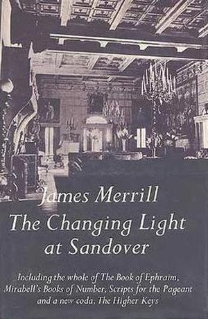 "James Merrill - The cover of The Changing Light at Sandover, a 560-page epic poem published in 1982, shows the ballroom of ""The Orchard,"" James Merrill's childhood home in The Hamptons in the 1930s."