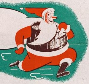 Beer Barrel Man - Santa Claus version of Owgust