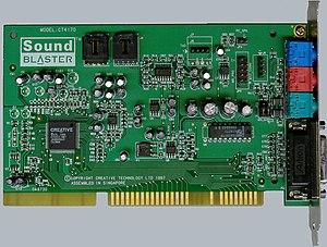 Sound Blaster 16 - Sound Blaster 16 WavEffects (CT4170).