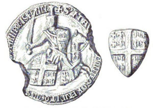 Matthew II of Montmorency - Seal of Montmorency from after 1214