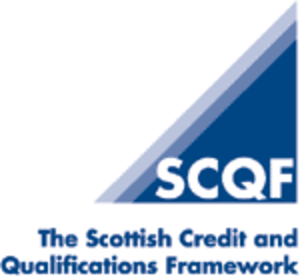 Scottish Credit and Qualifications Framework - SCQF logo