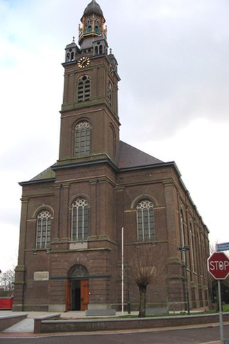 Erp, Netherlands - St. Servatius Church in Erp, 1844