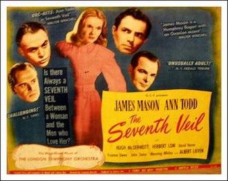 The Seventh Veil - The Seventh Veil film poster