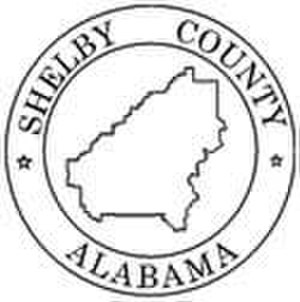 Shelby County, Alabama - Image: Shelby County al seal