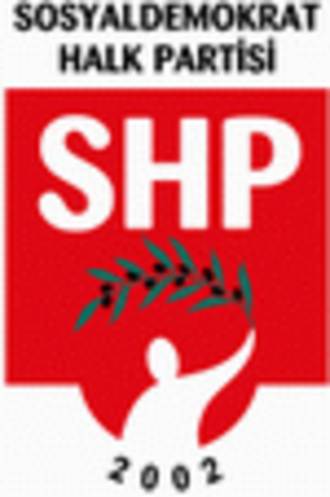 Social Democratic People's Party (Turkey) - Image: Shplogo
