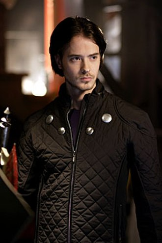 Cosmic Boy - Ryan Kennedy as Rokk/Cosmic Boy on Smallville.