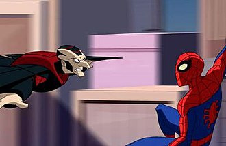 Survival of the Fittest (The Spectacular Spider-Man) - Image: Spectacular Spider Man pilot