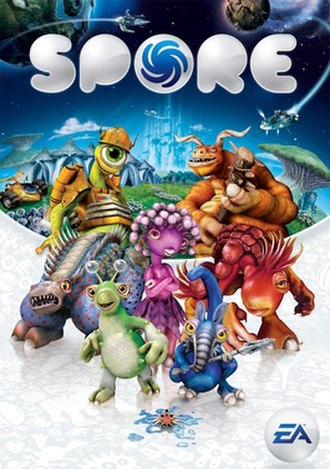 Spore (2008 video game) - Image: Sporebox