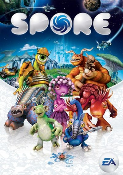 Picture of a game: Spore