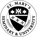 The seal of St. Mary's College and University