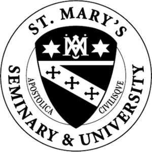 St. Mary's Seminary and University - Image: St Marys Seminary and University