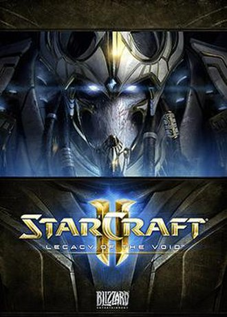 StarCraft II: Legacy of the Void - StarCraft II: Legacy of the Void cover artwork, depicting protagonist Artanis