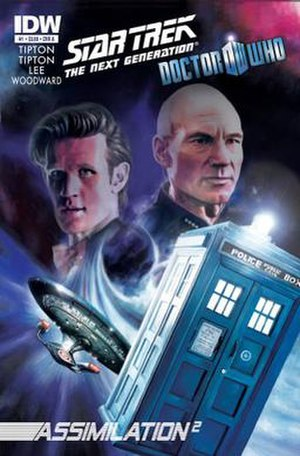 Star Trek: The Next Generation/Doctor Who: Assimilation2 - Image: Star Trek The Next Generation Doctor Who Assimilation 2