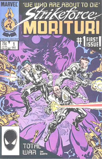 Strikeforce: Morituri - Strikeforce Morituri, art by Brent Anderson