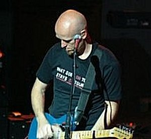 Delirious? - Guitarist Stu G during a Delirious? concert.
