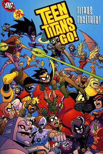 Teen Titans Go! - Image: TTG TPB