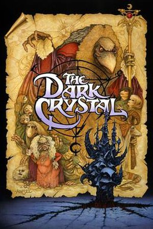 The Dark Crystal - Theatrical release poster by Richard Amsel