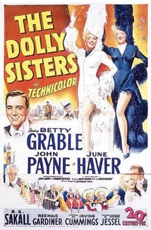 The Dolly Sisters (film) - Theatrical poster
