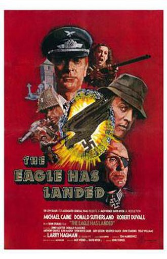 The Eagle Has Landed (film) - Image: The Eagle Has Landed poster