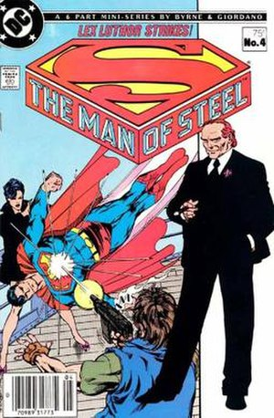 Lex Luthor - Image: The Man of Steel no. 4 (1986) (cover art)