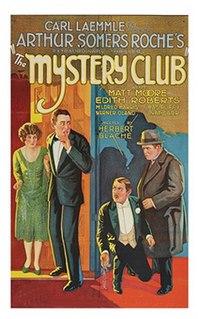 <i>The Mystery Club</i> 1926 film by Herbert Blaché