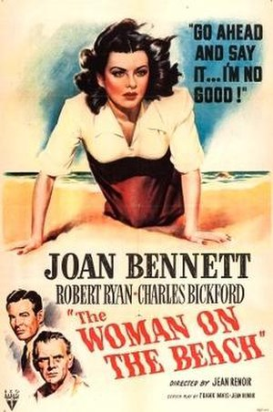 The Woman on the Beach - Theatrical release poster