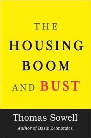 The Housing Boom and Bust - Cover of the hardcover edition