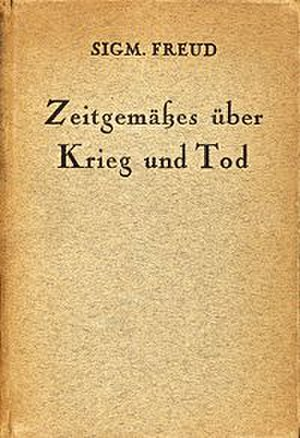 Thoughts for the Times on War and Death - The German edition
