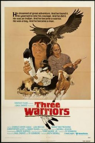 Three Warriors - Theatrical release poster