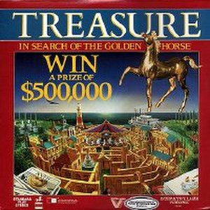 Treasure: In Search of the Golden Horse - Laserdisc cover for Treasure