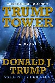 <i>Trump Tower</i> (novel) book by Donald Trump