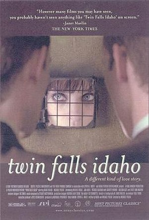 Twin Falls Idaho (film) - US film poster