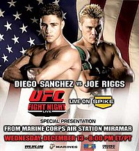 A poster or logo for UFC Fight Night: 7.