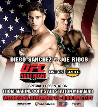 UFC Fight Night: Sanchez vs. Riggs - Image: UFCFN7