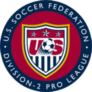 USSF Division 2 Professional League - Image: USSF D2 Pro League logo