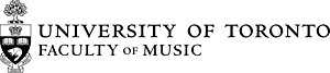 University of Toronto, Faculty of Music - Image: University of Toronto Faculty of Music Black Logo