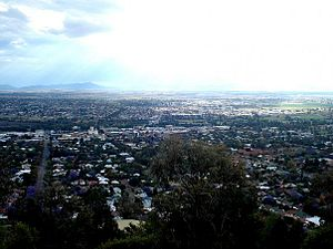 Tamworth, New South Wales - Tamworth view from Oxley Lookout