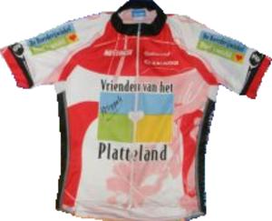 Vrienden van het Platteland - Image: Vrienden van het Platteland jersey