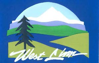 West Linn, Oregon - Image: WL flag