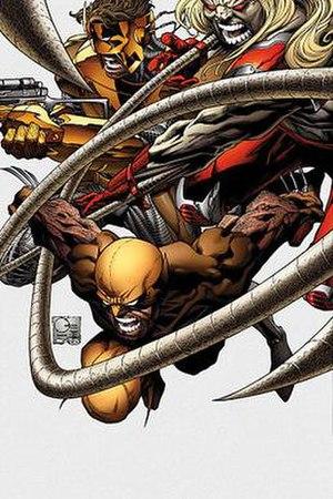 Team X (comics) - Image: WOLORIG007COV col